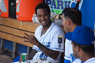 Ventura in the dugout, talking about 3 of something