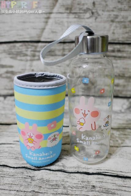 黑人牙膏╳卡娜赫拉 歡樂玻璃水瓶 (10)