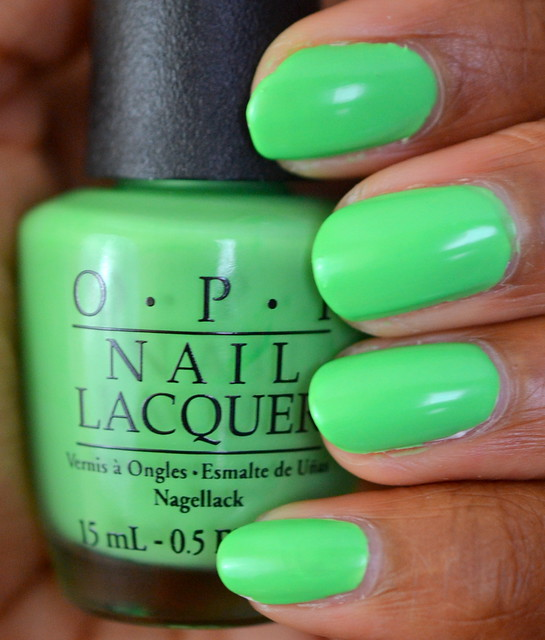 OPI You are So Outta Lime! polish