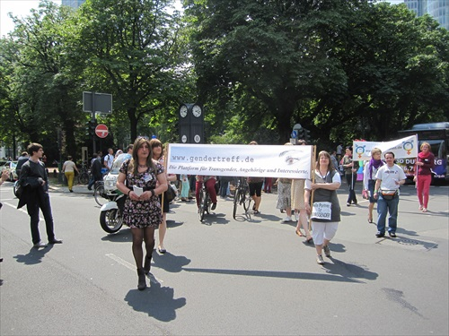 CSD Düsseldorf 2014 Gendertreff Demonstration 001