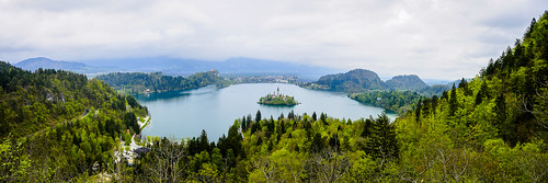 travel panorama lake water landscape europe day cloudy sony slovenia bled radovljica sonya7