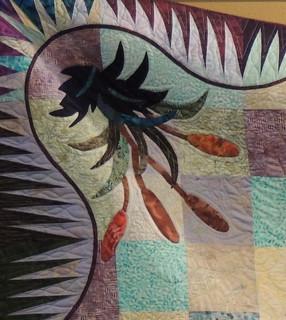 Corner Appliqué Detail
