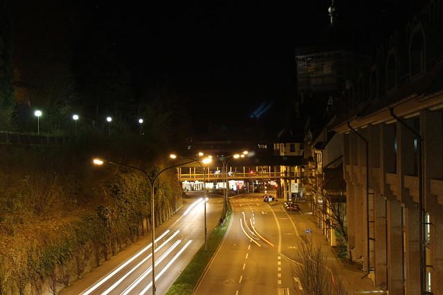 Freiburg bei Nacht II