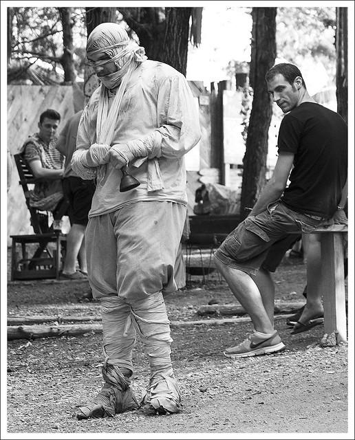 Renaissance Faire 2014-05-25 25 BW