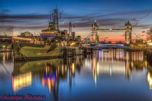uk longexposure london towerbridge sunrise hmsbelfast riverthames canon5dmk3