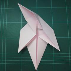 การพับกระดาษเป็นไดโนเสาร์ทีเร็กซ์ (Origami Tyrannosaurus Rex) 008