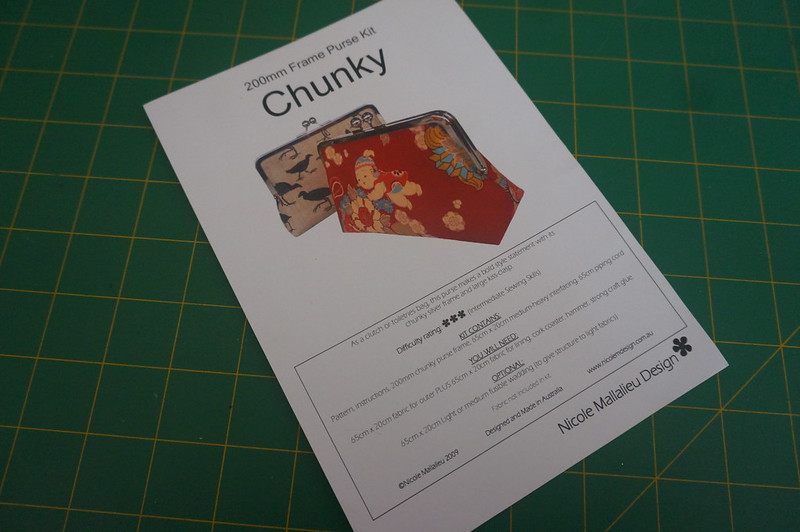 """You Sew, Girl!"" Chunky 200mm Purse Kit"