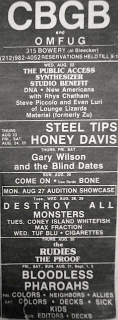 CBGB 08-22-79