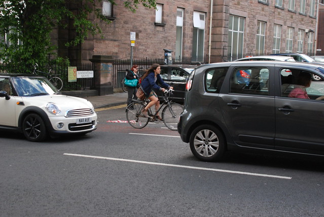 Cycling is a more efficient use of space in the urban environment