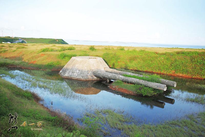 澎湖西嶼古蹟|西臺外垵餌砲|三仙塔