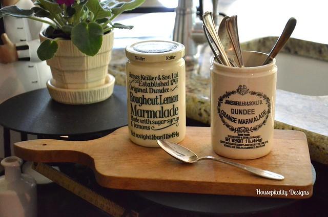 Vintage Marmalade Jars