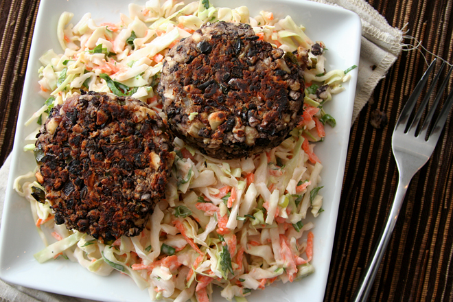 black bean patties 6