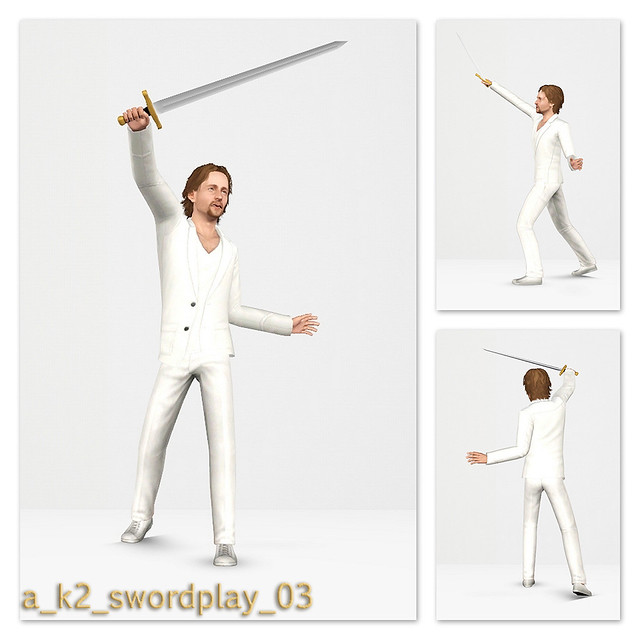 SwordPlay - Pose 03