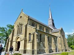 L'église Saint-Lambert de Oches  -  juin 2014