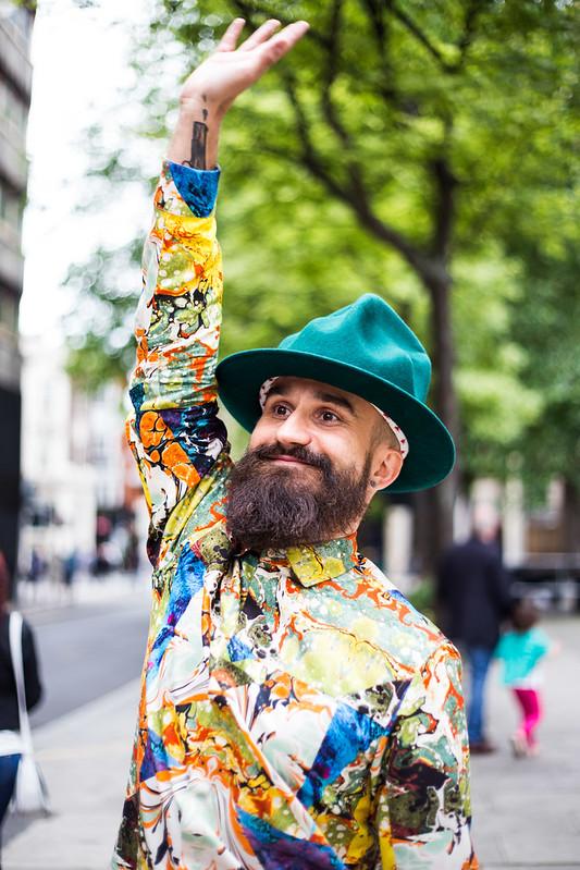 Street Style - Mikko, London Collections: Men