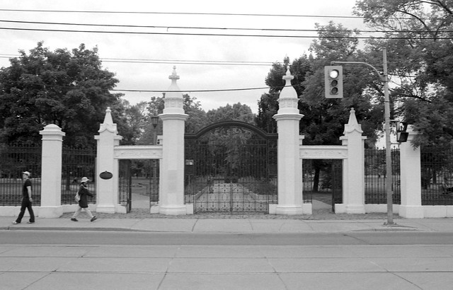 Gateway to Trinity Bellwoods Park