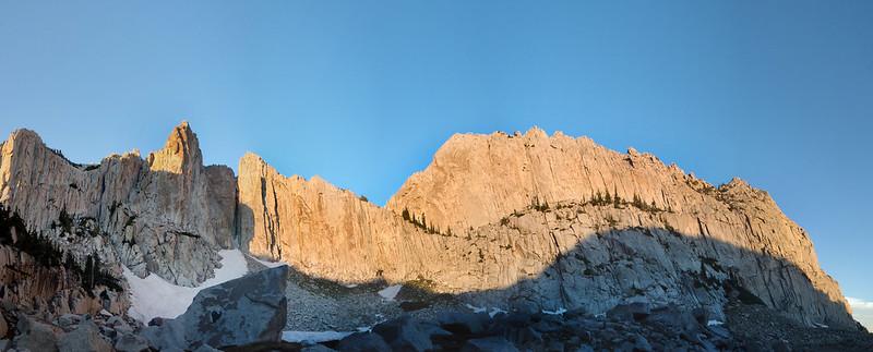 Cirque Alpenglow Panorama