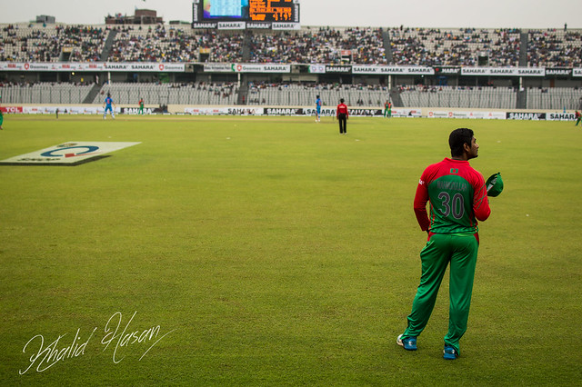 Bangladeshi Cricket Player Mahmudullah Riyad