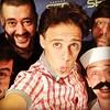 """Selfie con Toni Moog, Crisol Tuá, Mario el heladero y Dj. Niño tras tocar en """"La gran evasió"""" de la Cadena Ser."""