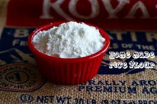 Home made  rice flour