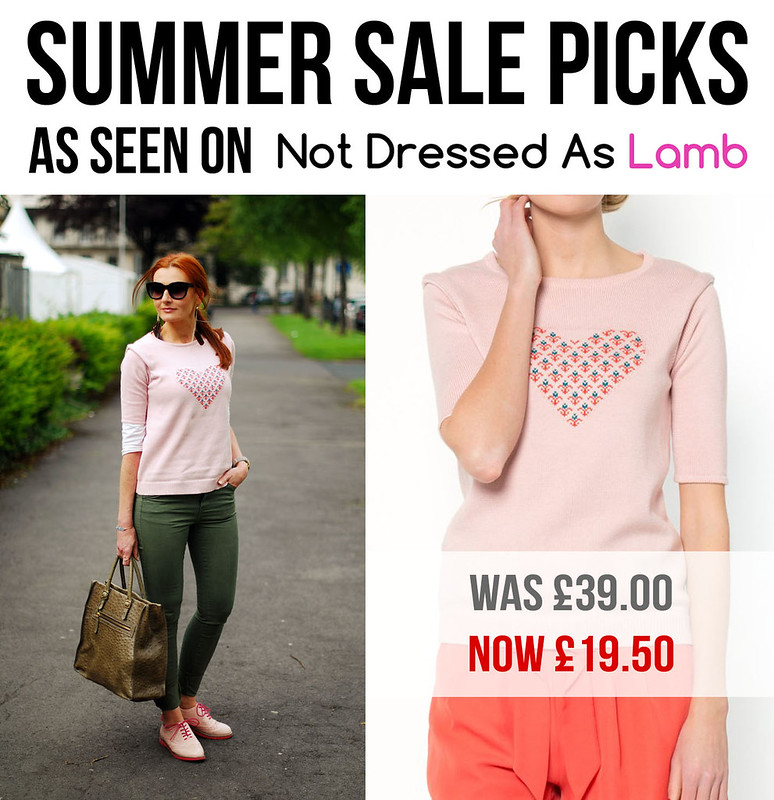 Summer Sales Picks as Seen on Not Dressed As Lamb