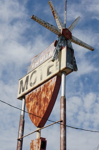 Arrow Motel - Route 66, Amarillo, Texas