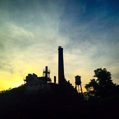 Lexington, NC. Photo by Celeste Echols  #clouds #sky #nature #naturegram #photography #photooftheday #sunset #horizon #landscape #lexington #northcarolina #nc #industrial