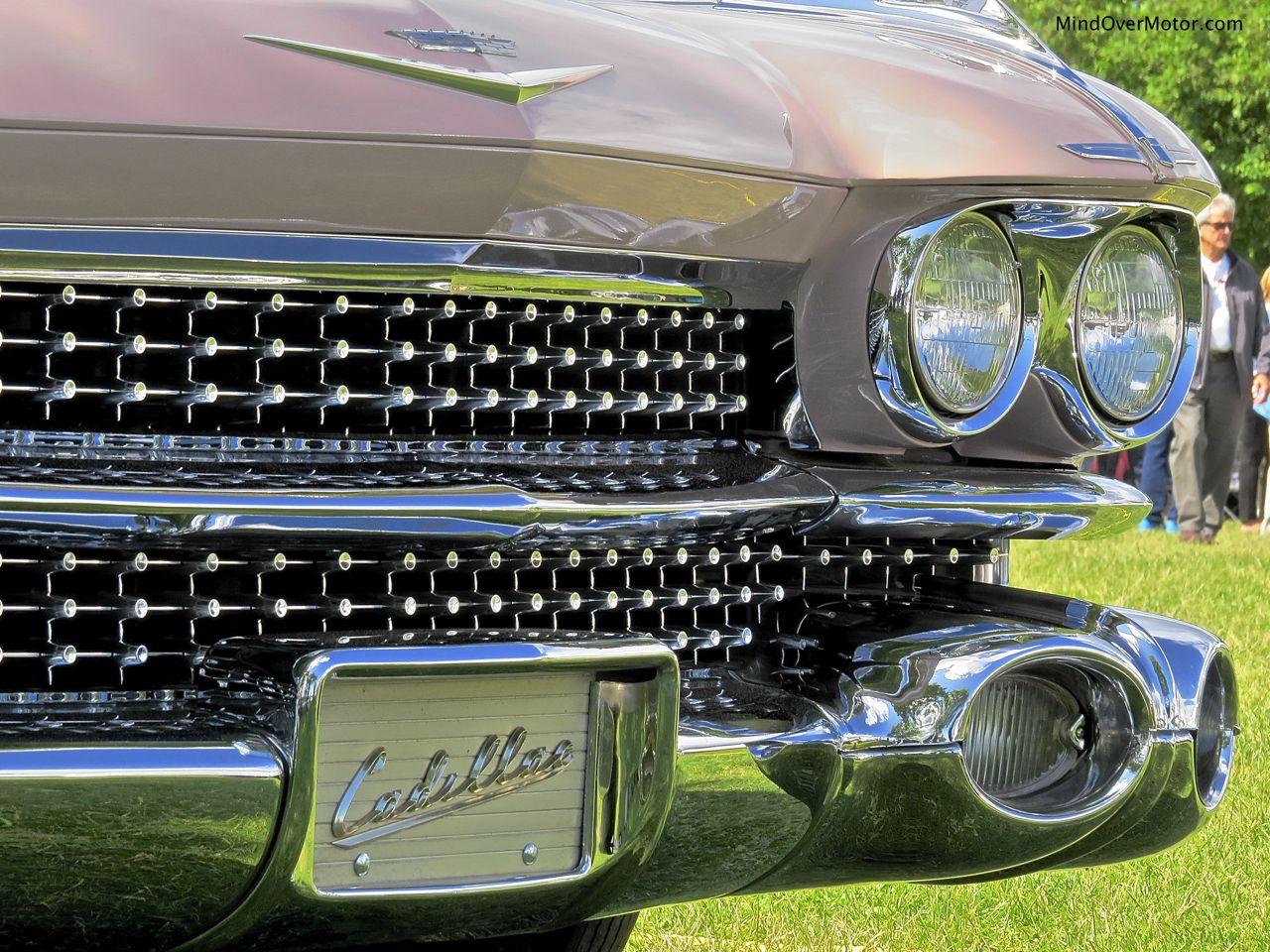 1959 Cadillac Coupe DeVille Grille Detail