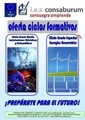 Cartel ELE y ENE 2014
