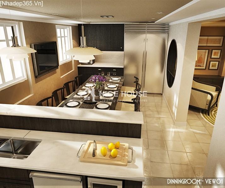 Thiết kế nội thất căn hộ Hàng Trống - Hà Nội_01