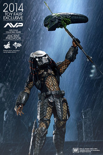 Hot Toys – MMS250 – 異形戰場【遠古終極戰士】1/6 比例 Alien vs. Predator Ancient Predator