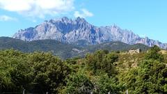 Le massif de Popolasca depuis Ponte Leccia
