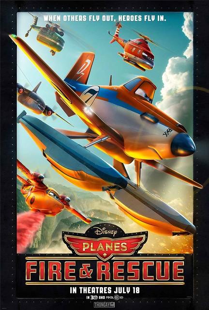 Phim Thế Giới Máy Bay 2: Anh Hùng Và Biển Lửa - Planes: Fire & Rescue