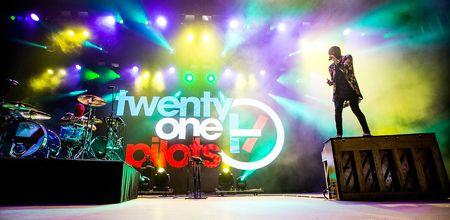Twenty One Pilots op Rock Werchter
