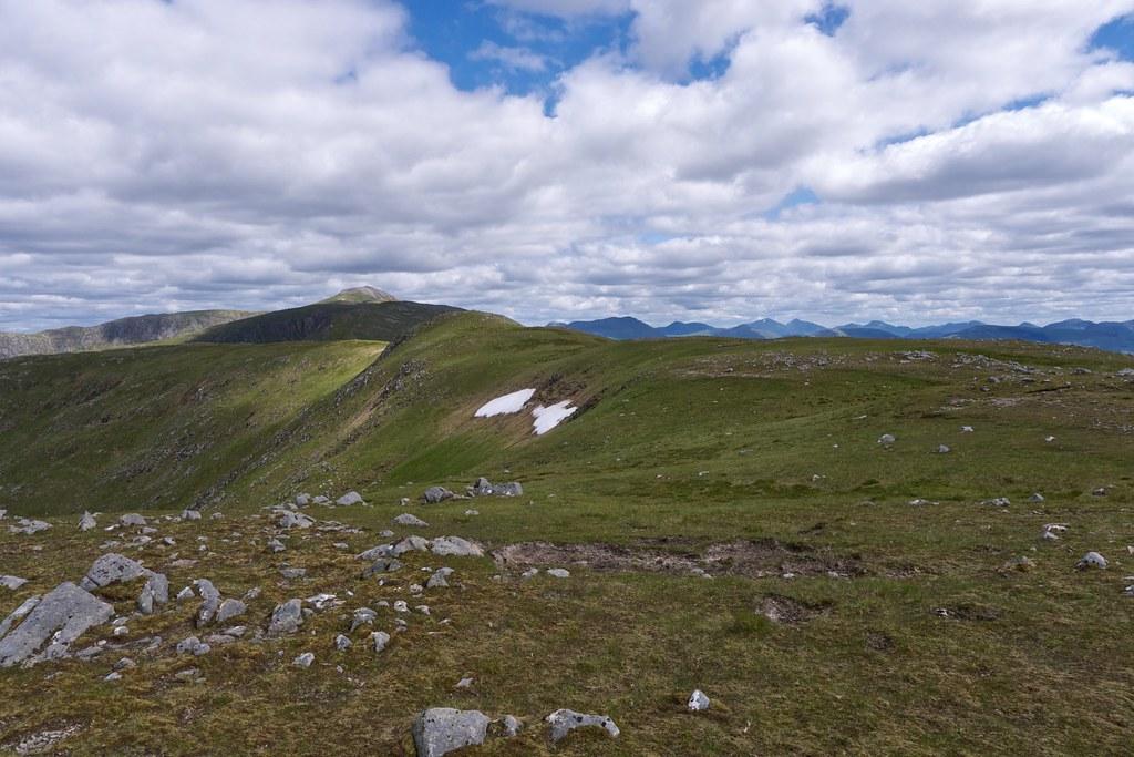 The ridge to Stob a'Bhruaich Leith