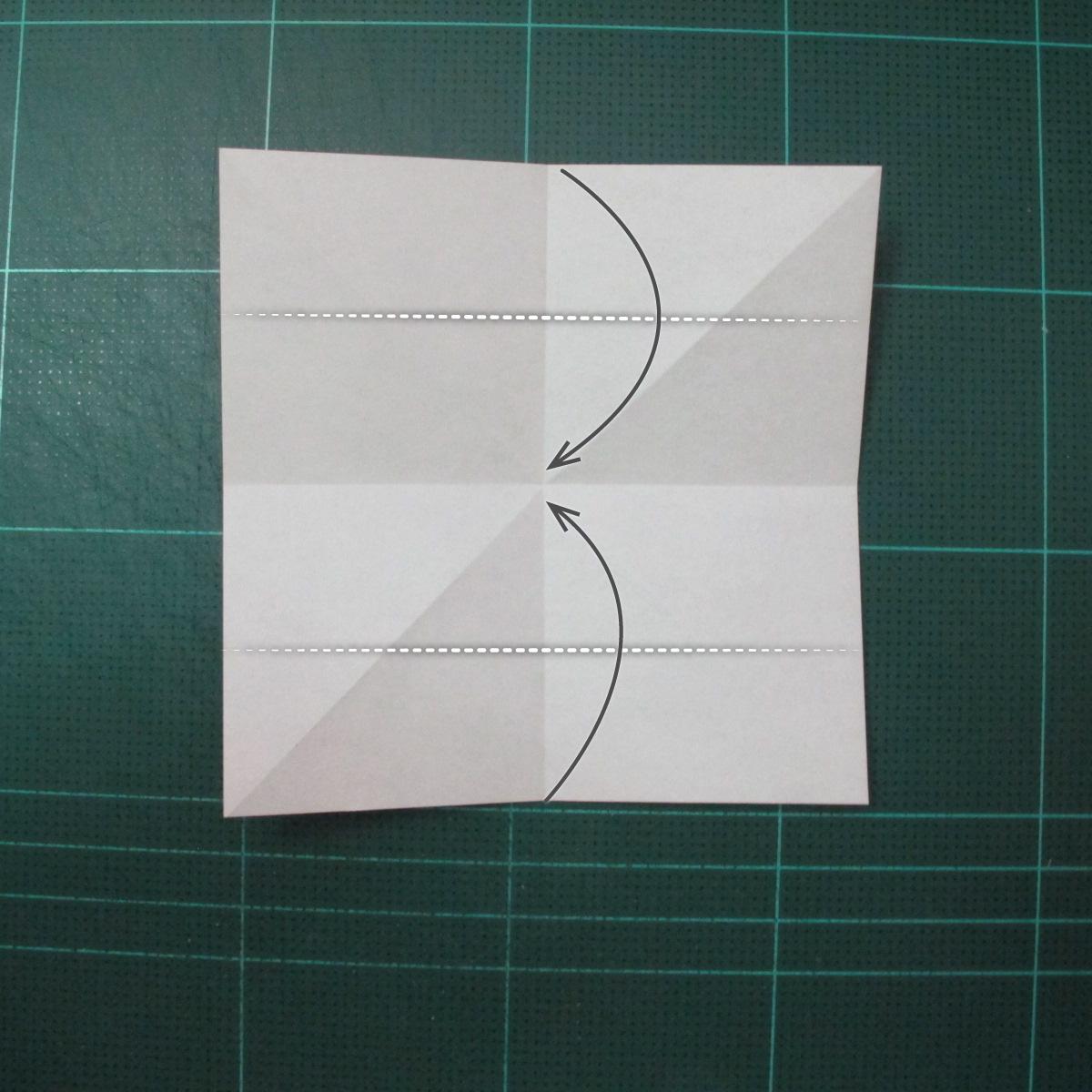 วิธีพับกระดาษเป็นที่คั่นหนังสือรูปผีเสื้อ (Origami Butterfly Bookmark) 002