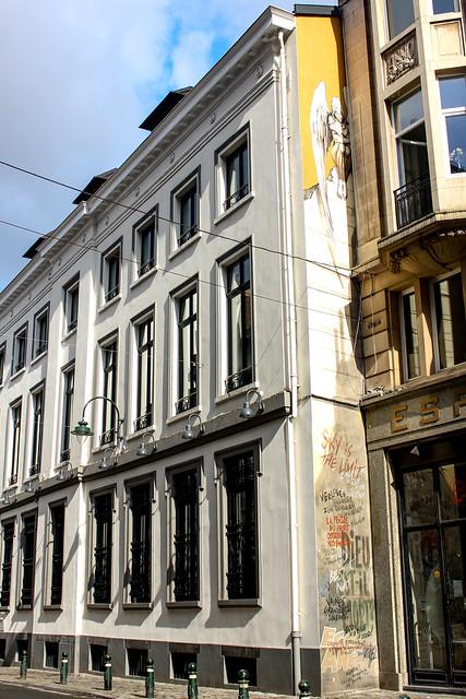 El Ángel - Yslaire (mayo de 1998). Rue des Chartreux/Kartuizersstraat 19