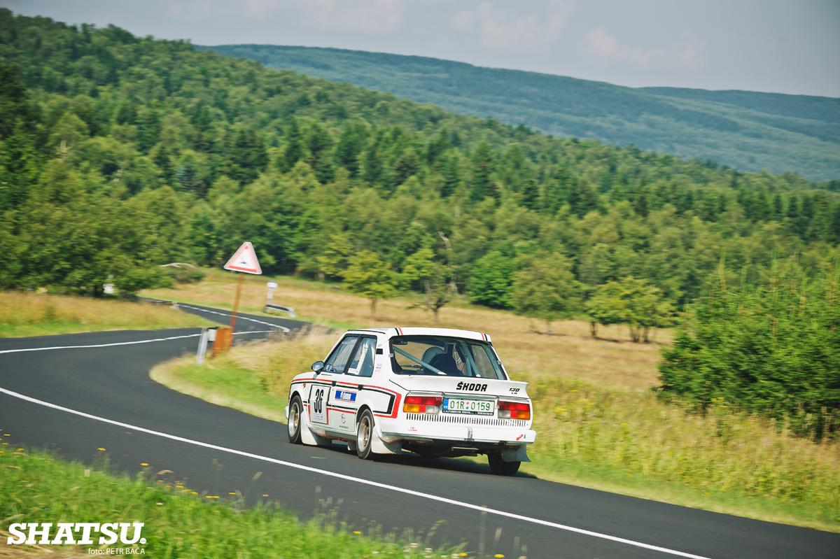 Rally Krušné hory 2014, Litvínov, Škoda 130LR, ČMPR,