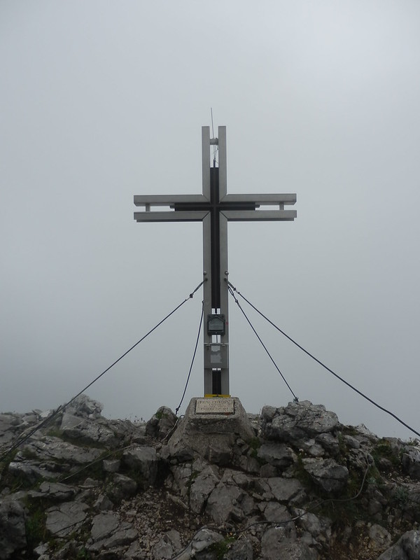 Frauenkopf summit cross