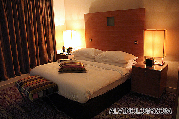My bedroom in Movenpick Doha
