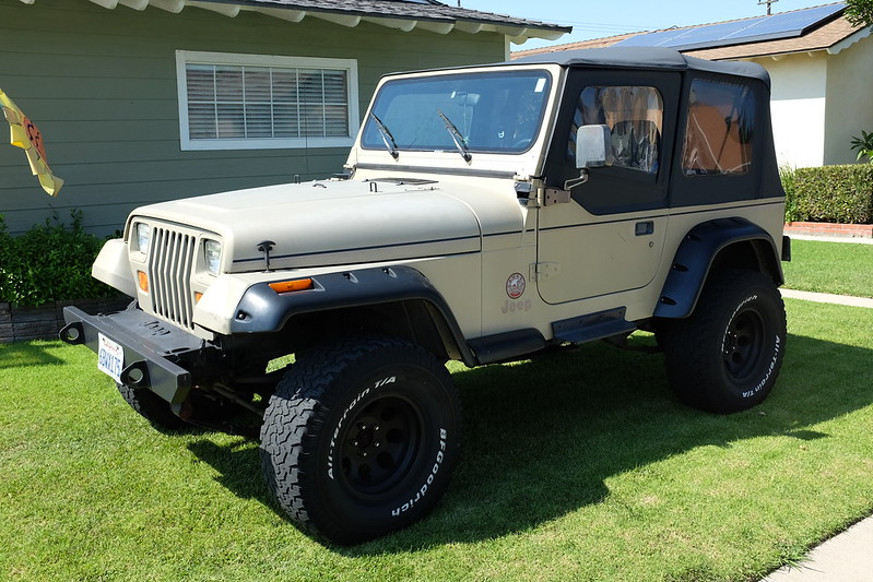 jurassic park jeep view topic 1992 jeep wrangler yj sahara edition sand beige the one. Black Bedroom Furniture Sets. Home Design Ideas