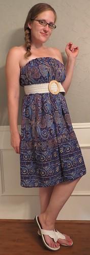 Batik Dress - After