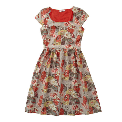 CK Autumn Bloom Dress