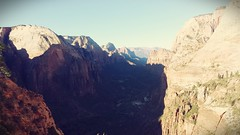 Angel's Landing.. .hiked by @FiachrM