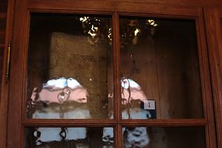 Afbeelding van Strahov Monastery. book prague cabinet praha wavy oldglass strahovmonastery