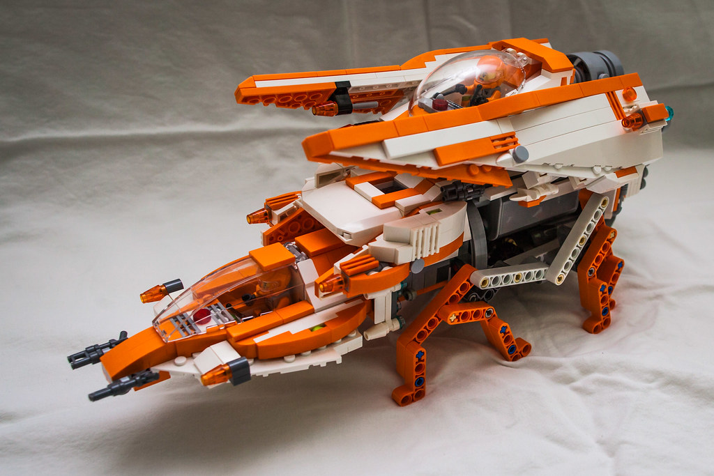 Lego Galaxy Squad Orange Team