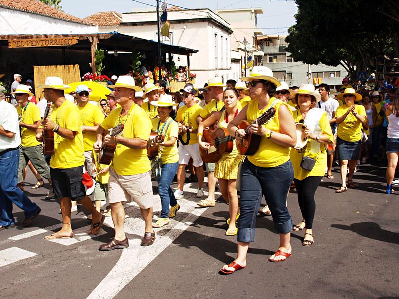 Parranda, Corazones de Tejina, Tejina, Tenerife