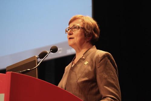 Sinikka Sipilä, présidente de l'IFLA