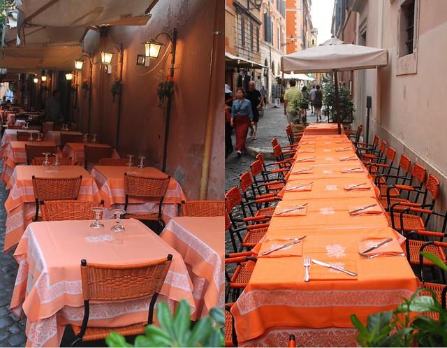 Al Fresco Dining + Rome