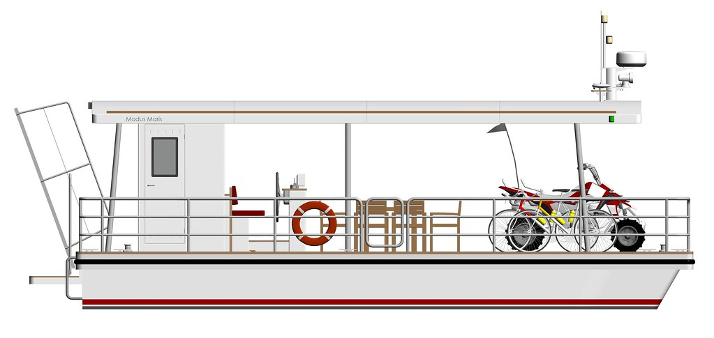 platforma 9m dlinnaya krysha moped pravyi bort